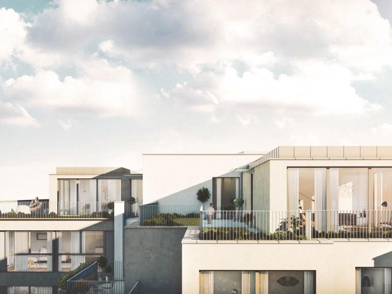 Dachgeschosswohnung mit Dachterrasse im Wohnhaus Wehleweg 9