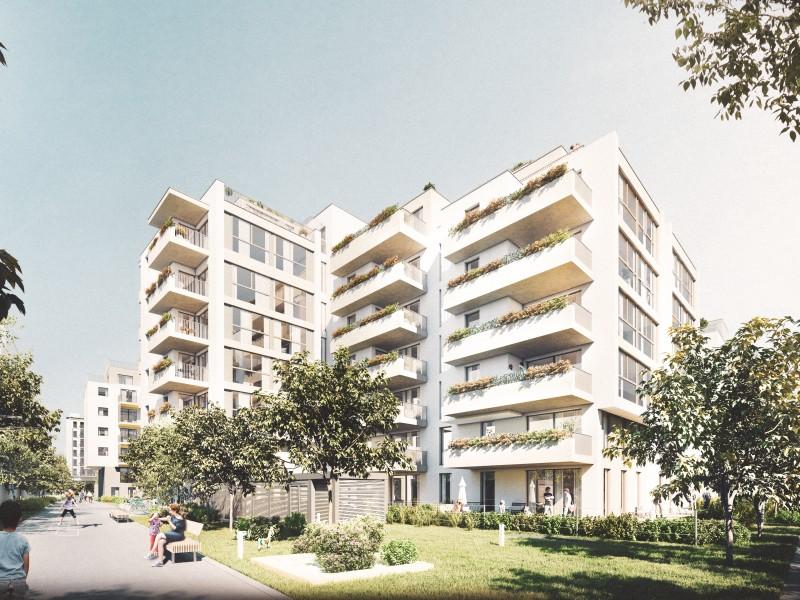 Wohnhaus Wehleweg 9 mit großzügigen Grünflächen