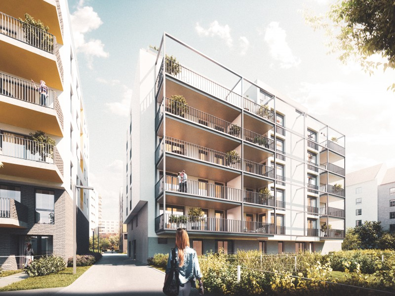 Wohnhaus Wehleweg 7 mit großzügigen Grünflächen