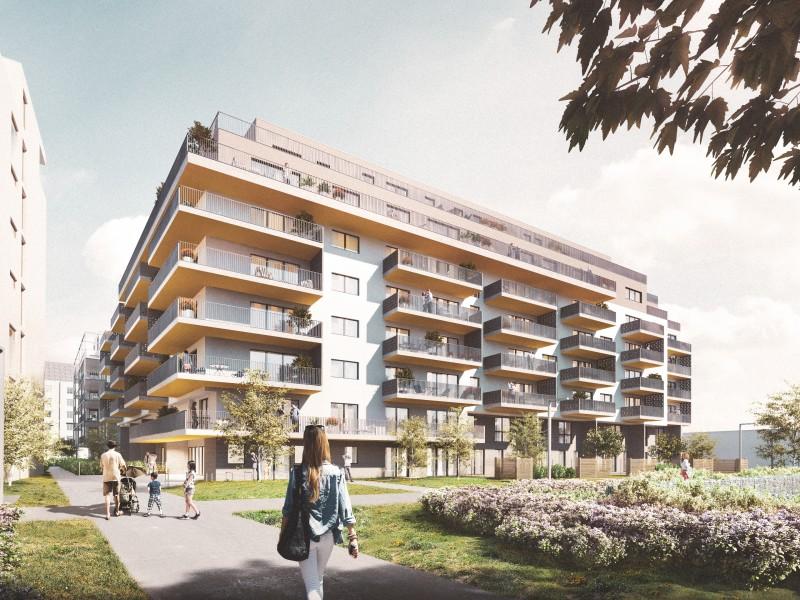 Wohnhaus Wehleweg 5 mit großzügigen Grünflächen