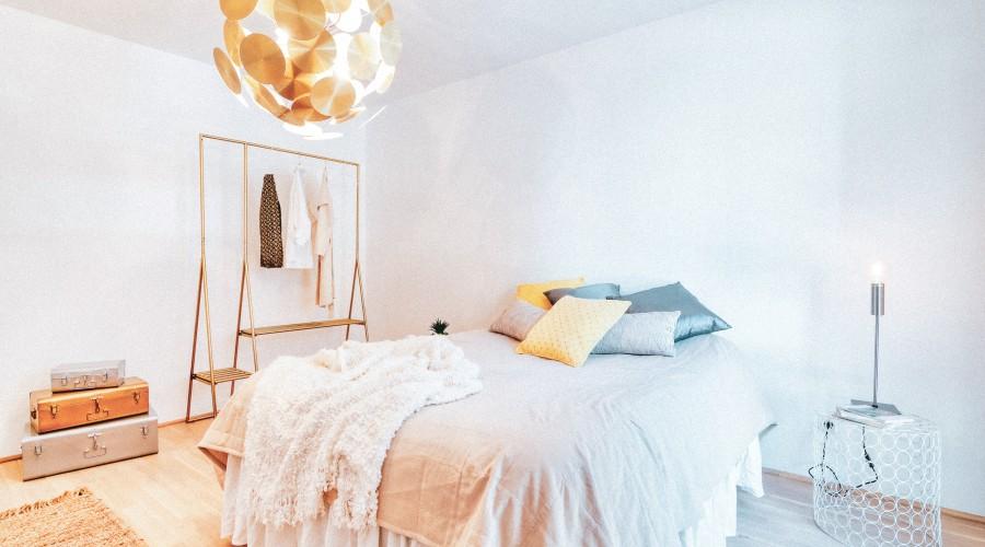 Gemütliches Schlafzimmer im IU
