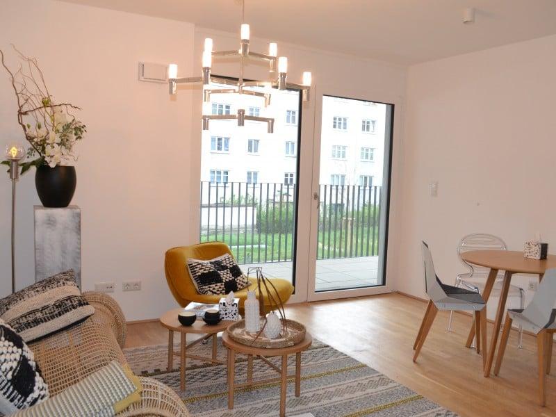 2-Zimmer-Wohnung mit Balkon 72