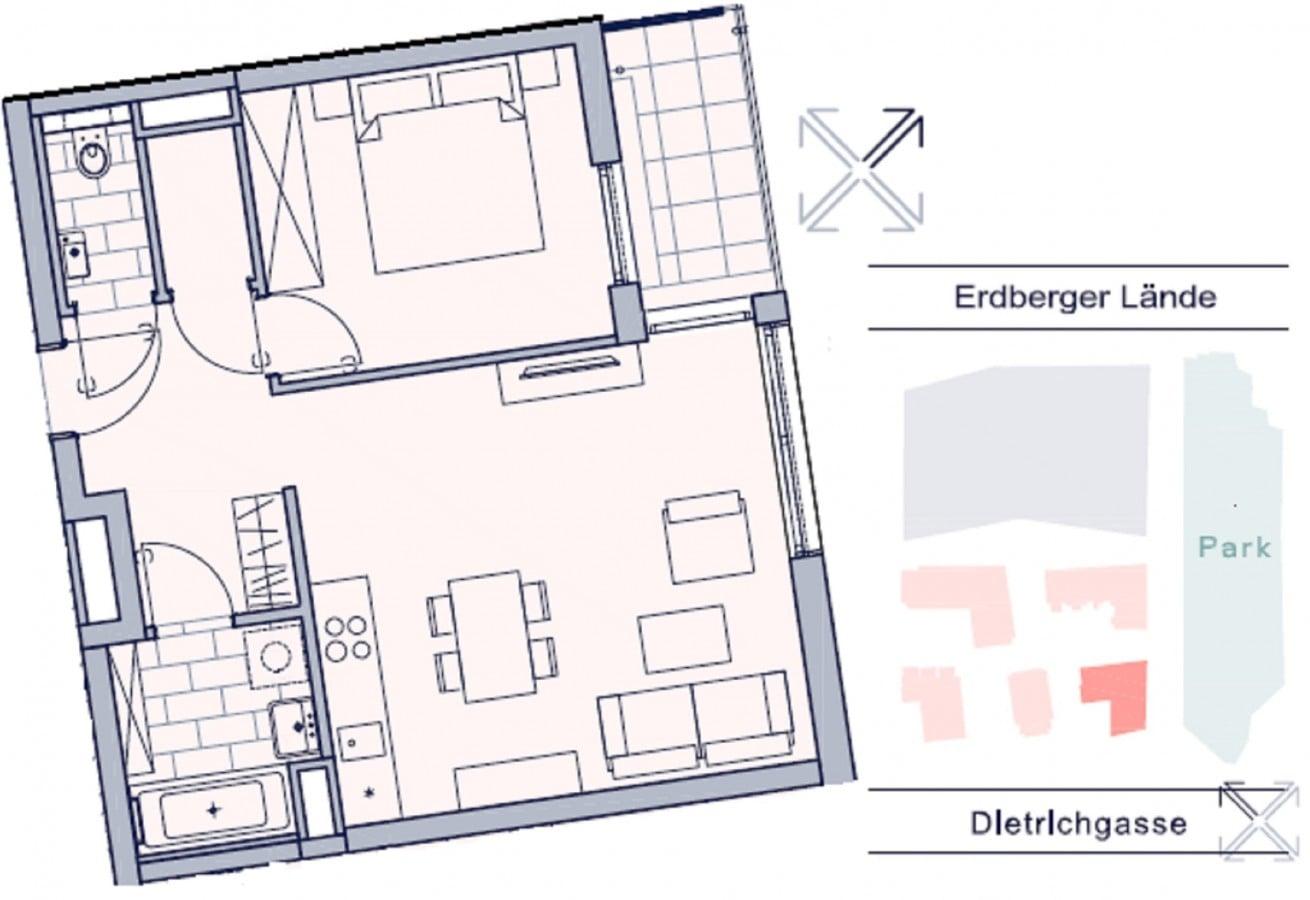 2-Zimmer-Wohnung mit Loggia 35