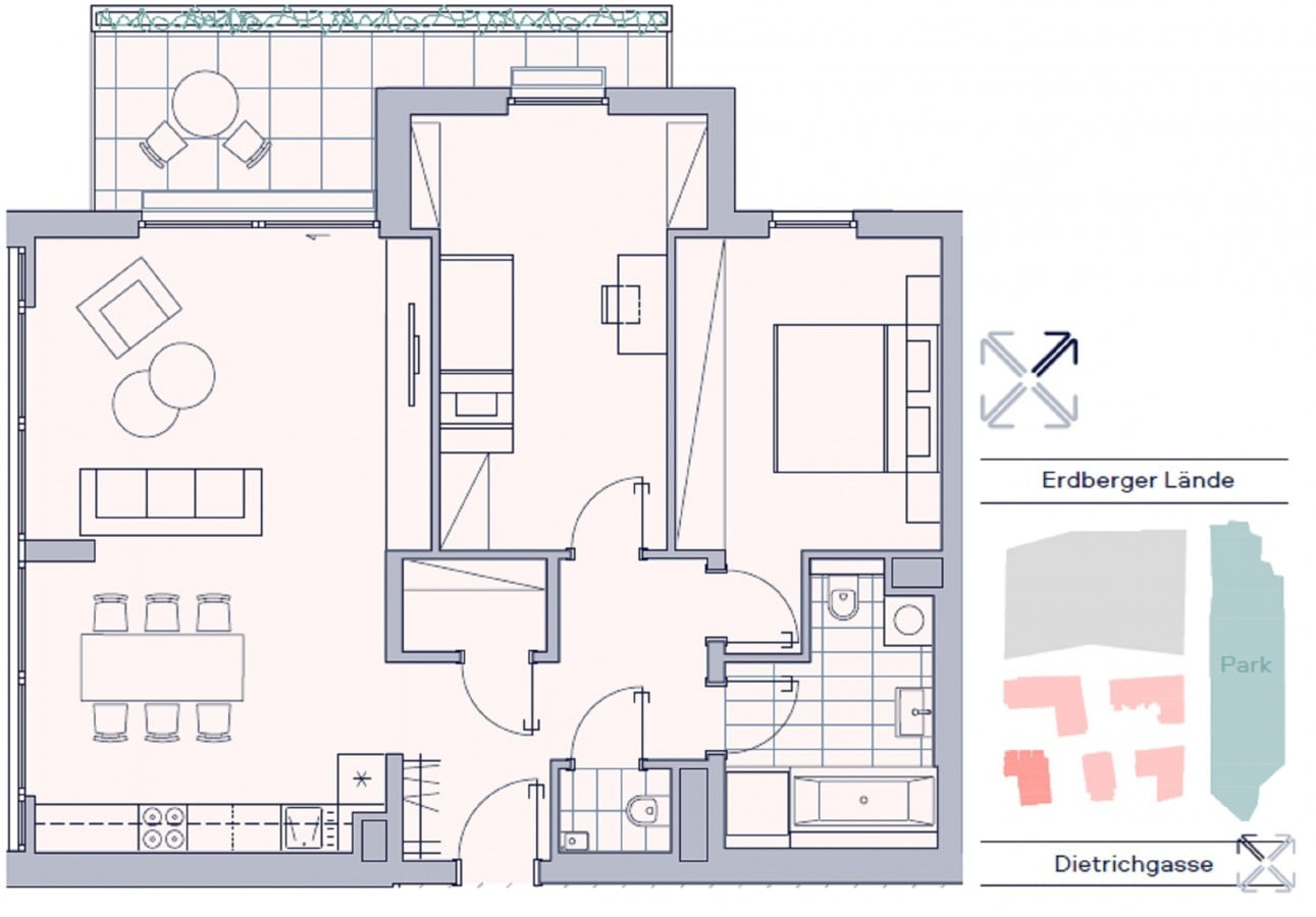 3-Zimmer-Wohnung mit Balkon 13